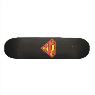 Superman Logo Skateboard Deck