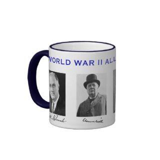 World War II Allied Leaders Mug