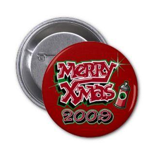 Xmas Graffiti 2009 Pins