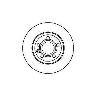 AUTEK Bremsscheiben hinten SEAT ALHAMBRA 2.0TDI 2.0i 1.9TDI 1.8T20V
