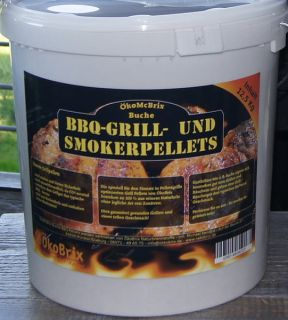Grill Holzpellets Ökobrix, Buche, 12.50 kg ( 1,03 €/kg )