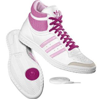Adidas Top Ten Hi Sleek White Pink G16707 Sport & Freizeit