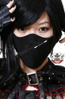 PUNK Gothic Visual Kei Face Guard ROBBER CRIMINAL MASK