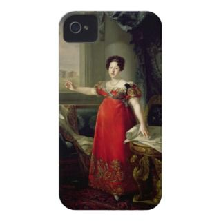 Queen Dona Maria Isabel de Braganza, 1829 (oil on iPhone 4 Cover
