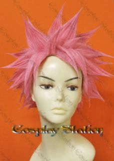 Fairy Tail Natsu Dragneel Custom Made Wig_com347