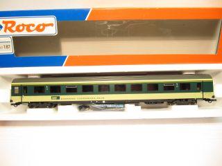 ROCO 44966 Personenwagen grün BT Bodensee Toggenburg 1.KL EP 4 KKK