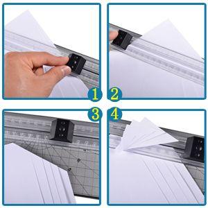 A4 Rollenschneider Trimmer Foto Papierschneider Schneidegerät
