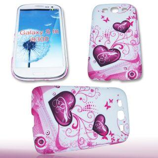 Handy Tasche Hard Case Cover Back Case für Samsung GT i9300 Galaxy S3