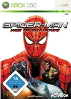 Microsoft Xbox 360 Spider Man   Web of Shadows   Spiderman Marvel