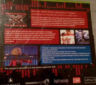 Factor XBox 360 Sing Spiel Voice of X Factor Superstar Singspiel