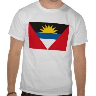 Antigua and Barbuda Flag T shirt