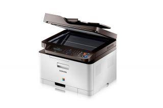 Multifunktionsgerät Samsung CLX 3305FN Color Fax Kopierer Drucker