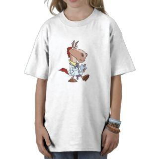 funny horse doc doctor cartoon tee shirts