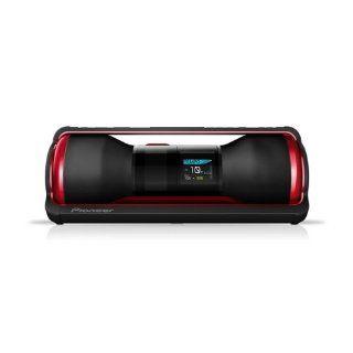 Pioneer STZ D10Z R Steez Portable Music System (40 Watt, 4GB interner