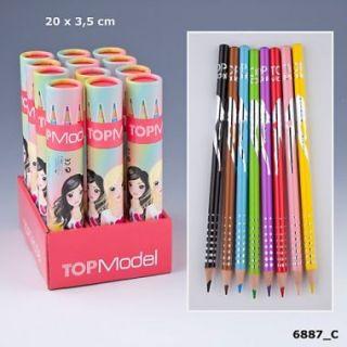 TopModel Buntstifte passend zum Top Model Malbuch
