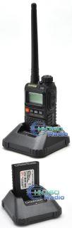 BAOFENG UV 3R Plus (BLACK) Daul Band MINI Radio + medicine pill box