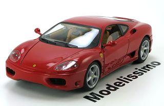 18 Hot Wheels Elite Ferrari 360 Modena 1999 red