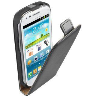 mumbi PREMIUM ECHT Leder Flip Case Samsung Galaxy S3 mini Taschevon