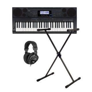 Casio CTK 6000 Keyboard SET inkl. Ständer und Kopfhörer