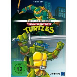 Teenage Mutant Ninja Turtles   Box 5 30 Episoden 6 DVDs