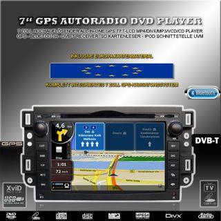Autoradio DVD GPS Navigation für Chevrolet CAPTIVA EPICA LOVA SPARK