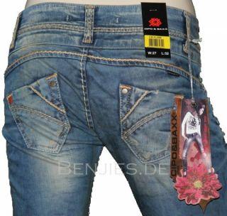 CIPO & BAXX Jeans Orange/Weisse Neon Nähte Kollektion 2012 Modell CBW