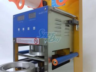 400W Automatic Boba Tea Coffee Cup Sealer Sealing Machine 400 600 Cups