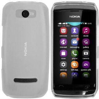 mumbi TPU Skin Case Nokia Asha 305 306 Silikon Tasche Hülle   Silicon