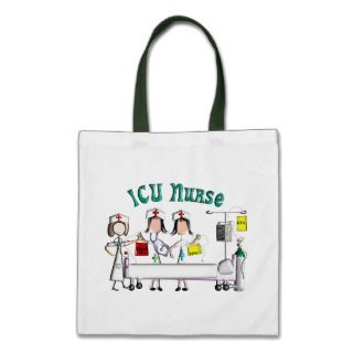 ICU Nurse Gifts Unique 3D Artist Graphics Bags