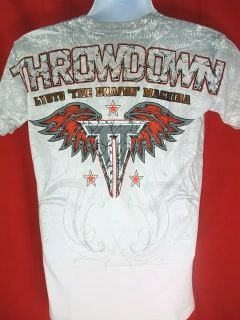 Lyoto Machida White Throwdown T shirt NEW