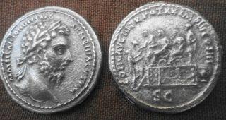 Marcus Aurelius Römische Münze, Sesterz Replikat Nachprägung