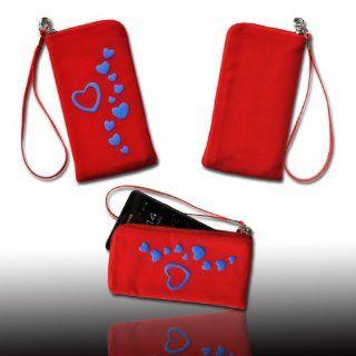 sw mobile shop Handy Tasche Case Etui Hülle in rot mit