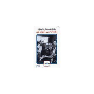 Kabale und Liebe [VHS] Wolf Kaiser, Otto Mellies, Marion Van der Kamp
