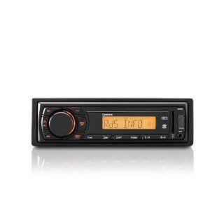 Lenco CS 410 Auto Radio (RDS, AM/FM/UKW/MW, 4 x 15 Watt, USB) schwarz