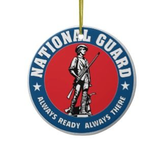 National Guard Christmas Ornaments