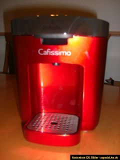 Tchibo 276196 Cafissimo Duo, Kaffeekapselmaschine, Hot Red