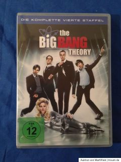 The Big Bang Theory Staffel / Season 1+2+3+4