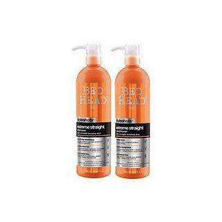 Tigi Bed Head Tween Extreme Straight Shampoo + Conditioner 750ml