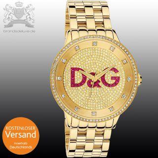 NEU DW0377 Prime Time XXL Big DOLCE & GABBANA D&G Uhr Unisex Damen