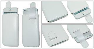 Apple iPhone 5 Echtes Leder Hülle Etui Case Tasche Handytasche