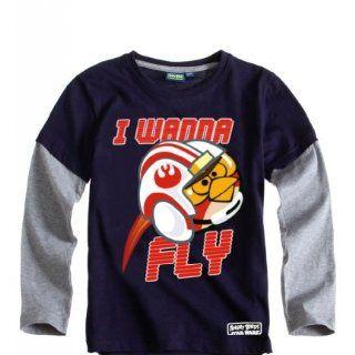 Angry Birds Star Wars Langarmshirt Sweatshirt coole Kids 3 Motive Nr