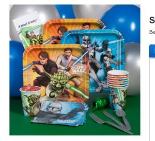 69 tlg.STAR WARS YODA Party Set Party Geburtstagsparty Teller Becher
