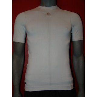 Adidas Techfit OnF SS T Shirt Funktionsshirt Compressionsshirt weiß