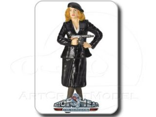 THE MOLL Rub Out Gangster 124 Motorhead Figur /Figure /Figurine