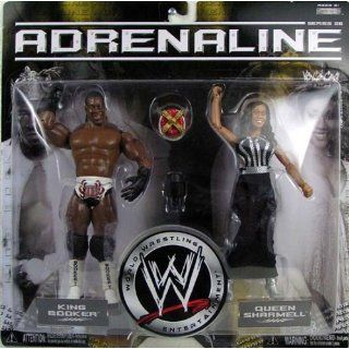 WWE   ADRENALINE Serie 26   2Pack   King Booker & Queen Sharmell