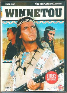 WINNETOU COLLECTION   16 Filme   8 DVDs   NEU+ OVP   Box   DEUTSCH
