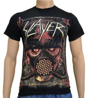 Slayer   Mashed Soldier Band T Shirt S XL Sport & Freizeit