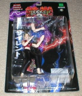 Tekken 3 Fatal Lightning Nina Williams Action Figure W/ Base 1/10