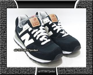 ML574UC Black White Grey Suede US 7.5~11 410 990 574 olympic