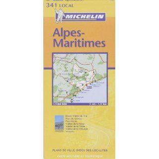 Michelin Karten, Bl.341  Alpes Maritimes (Michelin Local France